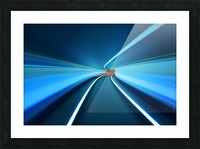 Tunnel Vision Picture Frame print