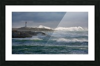 In the Protection of a Lighthouse Picture Frame print