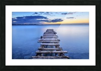 Pier Picture Frame print