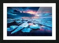 Badlands III Picture Frame print
