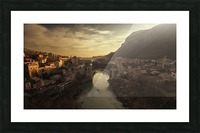Mostar Picture Frame print