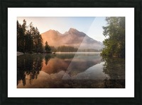Glowing Mist Picture Frame print