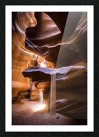 Sand Fall Picture Frame print