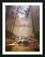 Mistyc mist Picture Frame print