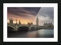 Big Ben, London Picture Frame print