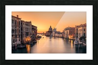 Dawn on Venice Picture Frame print