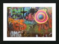 Street colors Picture Frame print