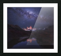 Patagonia Autumn Night Picture Frame print