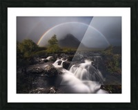 Etive Rainbow Picture Frame print
