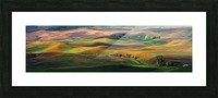 The Palouse Picture Frame print