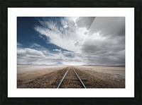 the long road Picture Frame print