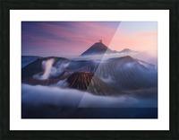 Bromo vs Semeru. Picture Frame print