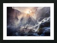 "Jiuzhaigou China a€Še""a¹»aœa¢ƒa€‹ Picture Frame print"