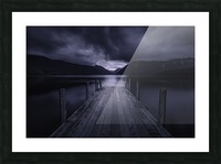 Storm Coming Picture Frame print