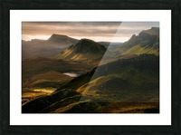 Light and Shadows Picture Frame print