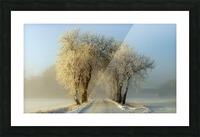 Winter  gateway Picture Frame print