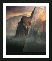 Bridalveil fall, Yosemite Picture Frame print