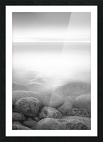 Moog Island Picture Frame print