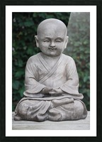 BUDDHA Picture Frame print