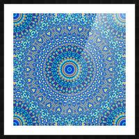 Mandala_5A Picture Frame print