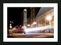 Tennessee Theater Color Picture Frame print