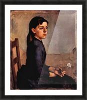 Louise-Delphine Duchosal by Ferdinand Hodler Picture Frame print