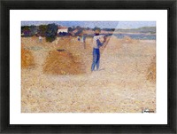 The Reapers of the Wheat Picture Frame print