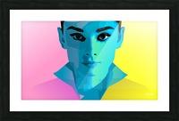 Pop Art Audrey Portrait Picture Frame print