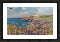 The Semaphore, Cote de Bretagne Picture Frame print