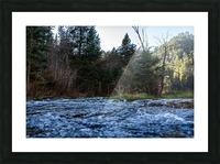 Creek Picture Frame print