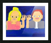 Freeze Frame High Five. Rick F. Picture Frame print