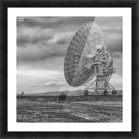 Very Large Array New Mexico Picture Frame print