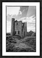 Tin Mine Cornwall Picture Frame print