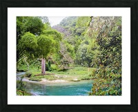 River7 Picture Frame print