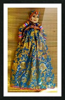 Puppet doll Picture Frame print