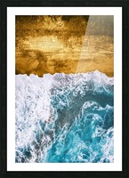 Tropical XVI - Golden Beach Picture Frame print