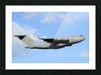A C-17 Globemaster III Picture Frame print