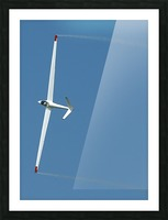 A sailplane glider during the 2007 Naval Air Station Oceana Air Show. Picture Frame print