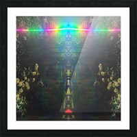 Warrior Totem Picture Frame print