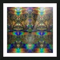 Colliding Universes Picture Frame print