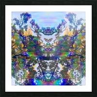 Deer King Picture Frame print