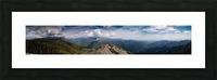 California Cloudscape Picture Frame print