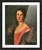 Mrs. Patzak by Franz von Stuck Picture Frame print