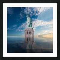 STATUE OF LIBERTY Picture Frame print