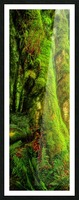 Primordial Growth Picture Frame print