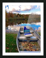 Shartlesville Dinghy Picture Frame print