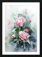 ROSES Picture Frame print
