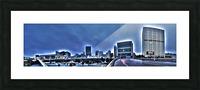 Surreal Atlanta Picture Frame print