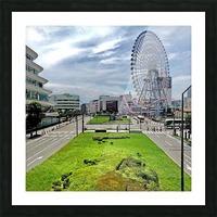 Yokohama Picture Frame print