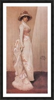 Nocturne in rose and grey by Whistler Picture Frame print